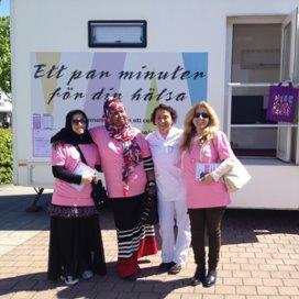 Bus voor baarmoederhalskankerscreening met allochtone 'ambassadrices'