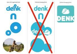 Politici passen logo 'Denk' aan