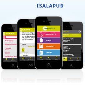 Isala komt met app voor wetenschappelijk publicaties