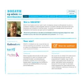 E-healthprogramma voor emotioneel herstel na borstkanker