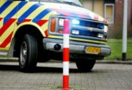 Ongeduldige man verplaatst ambulance