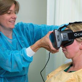 Martini Ziekenhuis zet virtual reality in tegen pijn