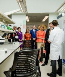 Koning pleit voor samenwerking gezondheidszorg VS