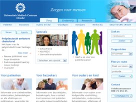 Top-10 ziekenhuiswebsites: UMC Utrecht nieuwe koploper