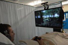 Brits ziekenhuis zet virtual reality in tegen pijn