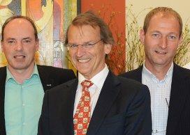 Fred Schrander (links)