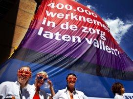 'Actie bij Tamarinde voor cao VVT geslaagd'