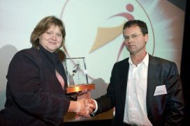 Zorgportaal Rijnmond wint Spider Award 2011
