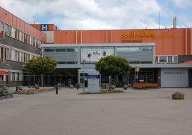 Krappel weg bij ziekenhuis De Sionsberg