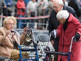'Driekwart zorg wordt ouderenzorg'
