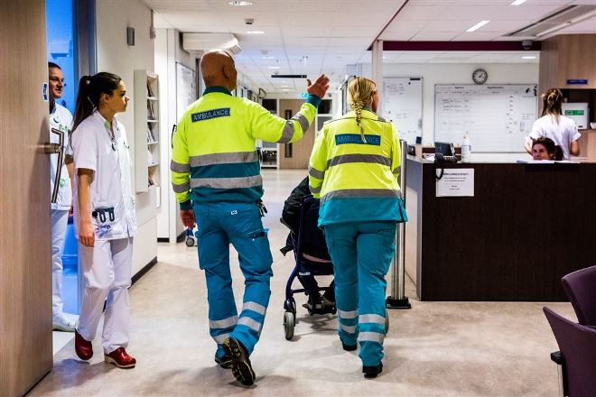 Seh griepgolf ziekenhuizen Brabant