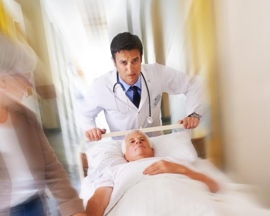ziekenhuis patiënt