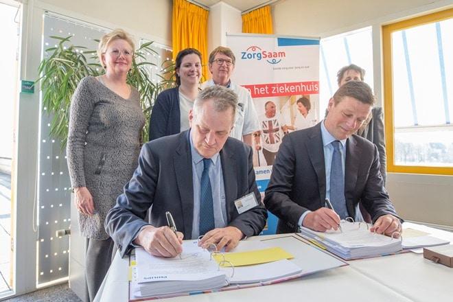 Philips en ZorgSaam miljoenencontract