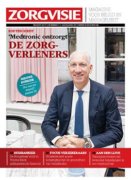 Cover Zorgvisie magazine, nr. 3/2017
