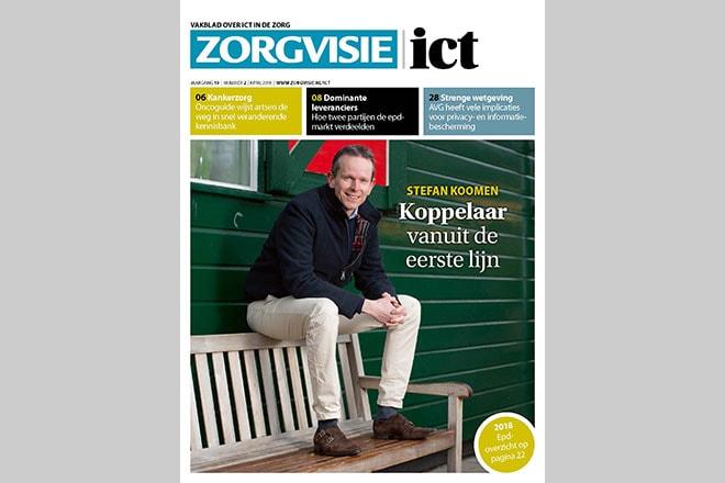 Cover Zorgvisie ict magazine