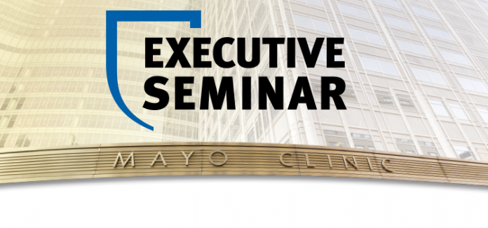 Excecutive seminar Topsprekers op bezoek: Mayo Clinics