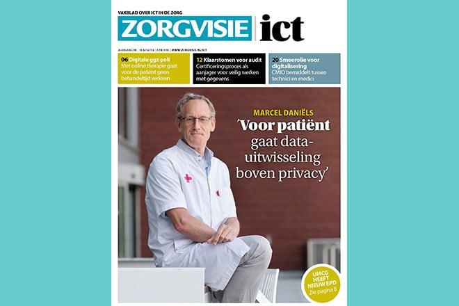 Zorgvisie ict magazine, nr. 3, 2018
