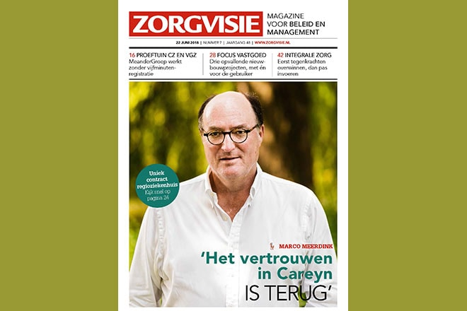 Zorgvisie magazine, nr. 7, 2018