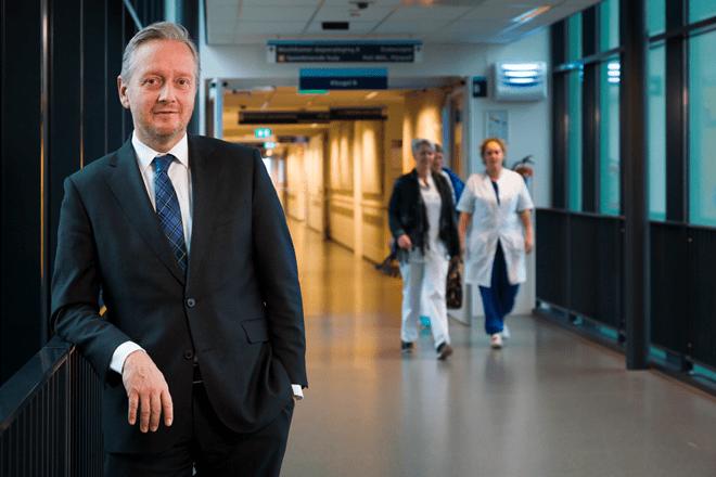 David Jongen, bestuursvoorzitter Zuyderland, positief resultaat