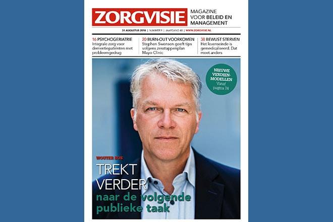 Cover Zorgvisie magazine nr. 9-2018