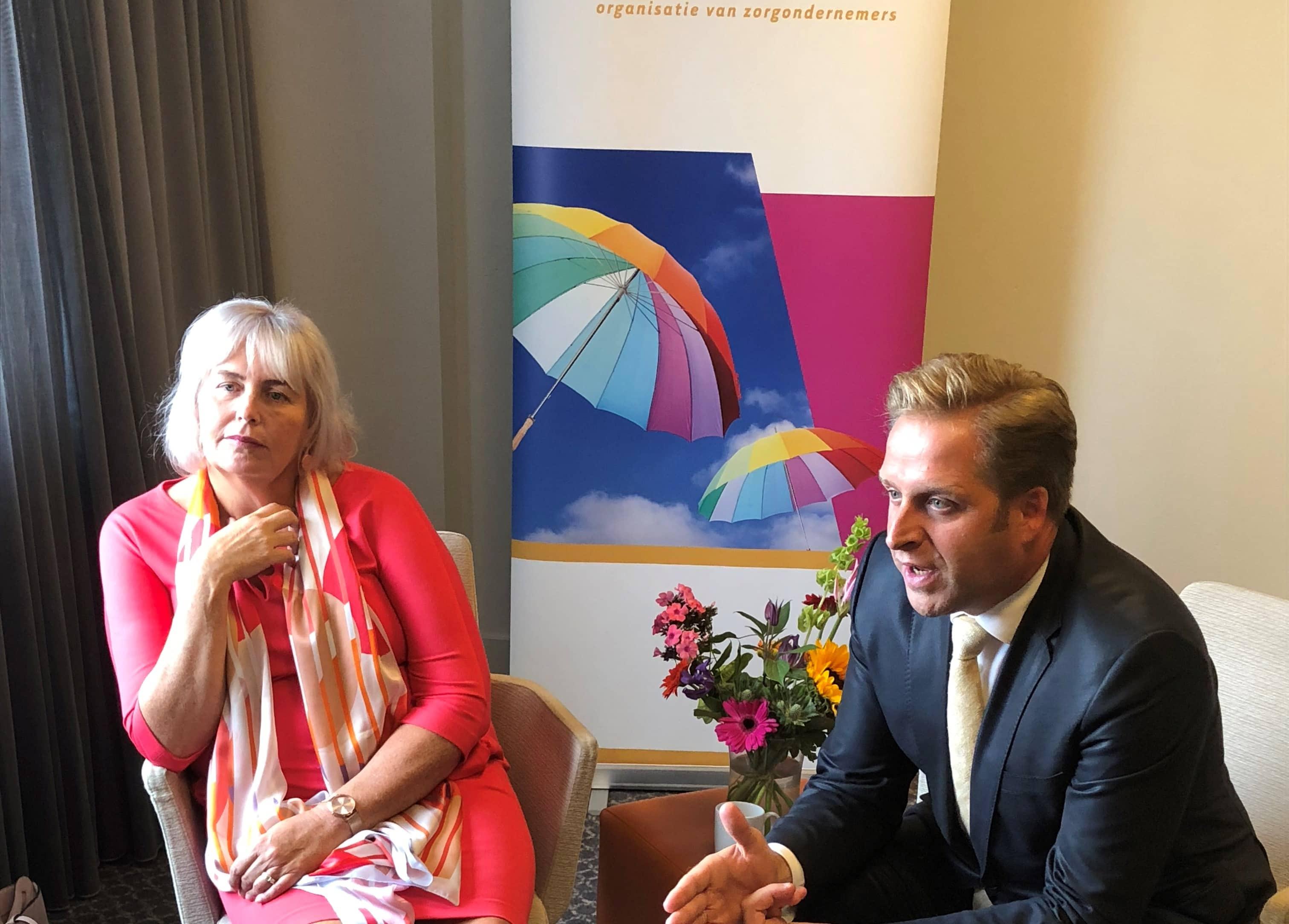 Hugo de Jonge en Jacqueline Joppe