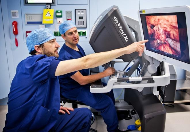 Da Vinci Xi Operatierobot Prostaatkankercentrum