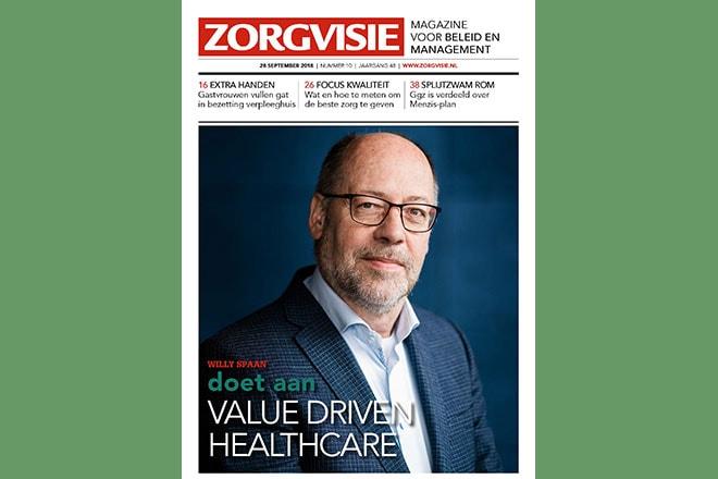 Oktobernummer Zorgvisie magazine