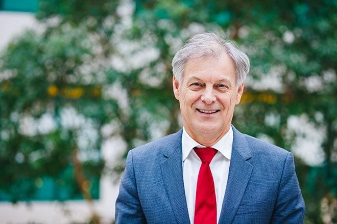 Wim van Harten, bestuursvoorzitter Rijnstate