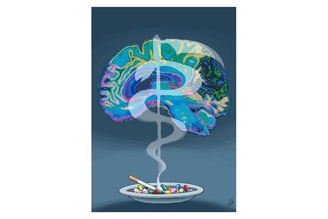 Stoppen met roken in psychiatrie