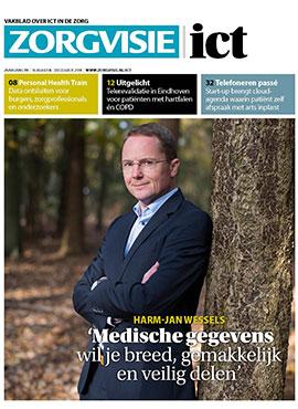 Cover Zorgvisie ict magazine nr. 6