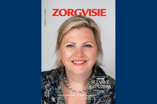 Cover Zorgvisie magazine nr. 3, 2019