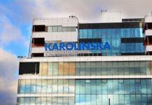 Het nieuwe gebouw van Karolinska universiteitsziekenhuis in Stockholm. Foto: Carin Tellström
