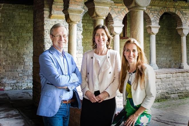 Foto vlnr: Henk Nies, Annelies Versteegden en Mirella Minkman.