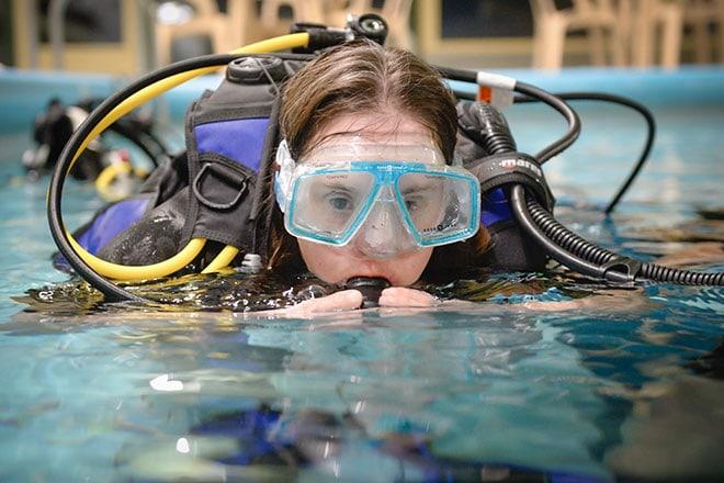 duiken voor mensen met verstandelijke beperking
