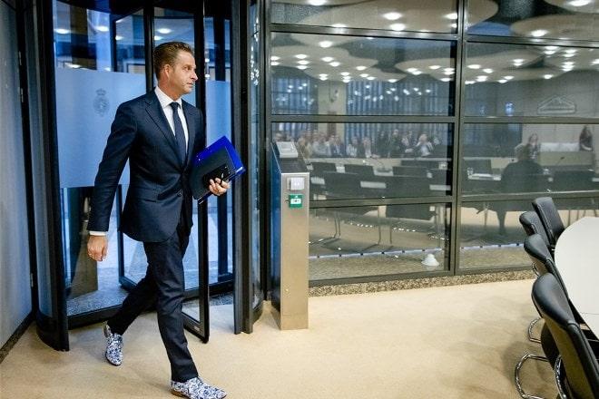 Minister Hugo de Jonge van VWS in de Tweede Kamer. Foto: ANP Sem van der Wal