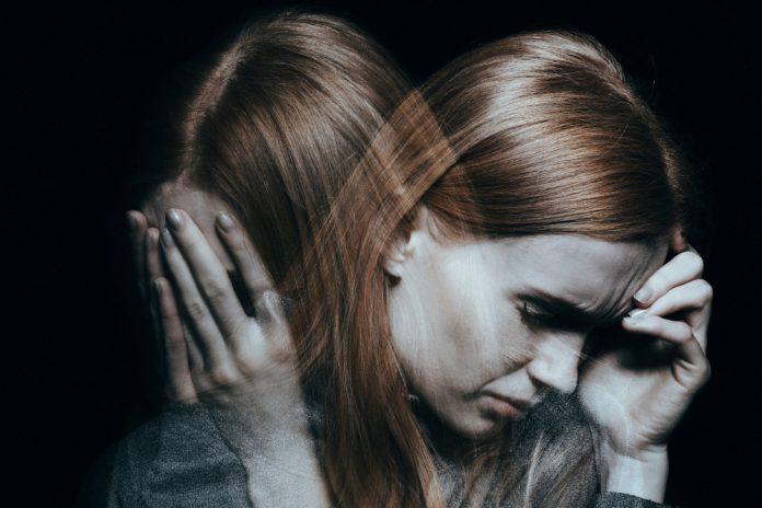 vrouw in crisis