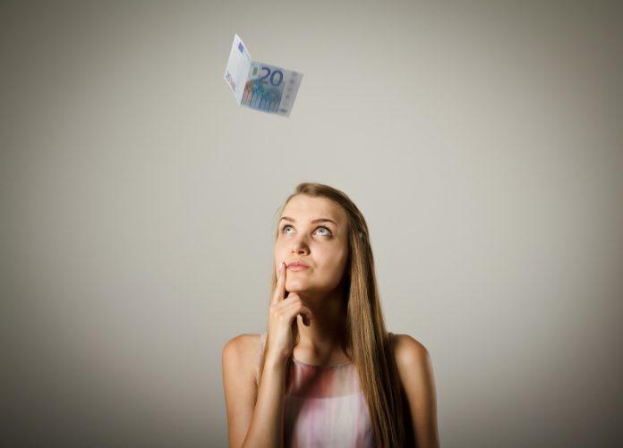 geld vrouw