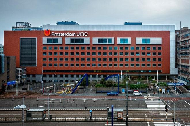 De traumazorg gaat mogelijk al per 1 januari 2022 van de Boelelaan (foto) naar de Meibergdreef in Amsterdam Zuidoost.