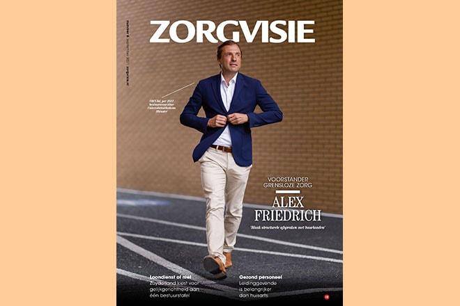 Cover Zorgvisie magazine nr. 6, 2021